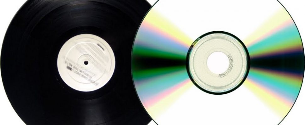 Vinyl and CD Sound